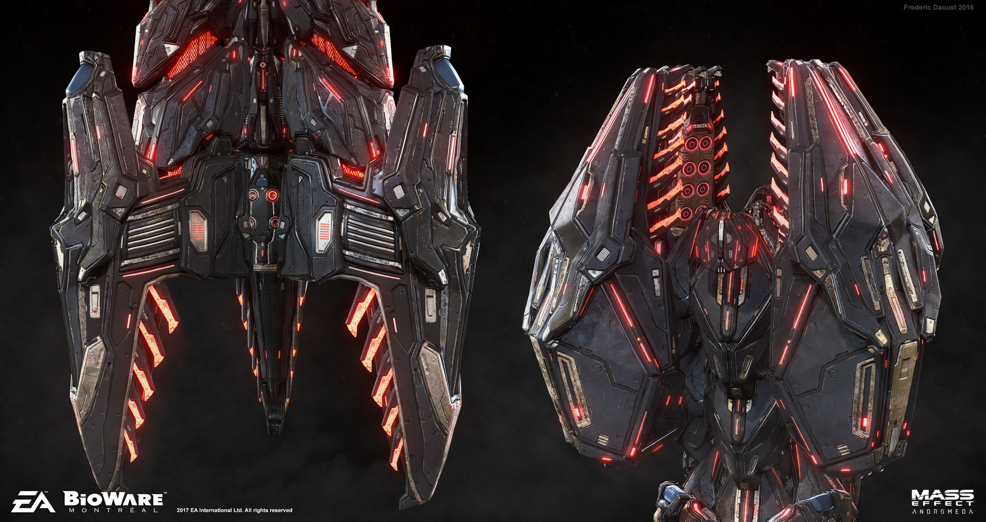 Frederic Daoust Mass Effect Andromeda Remnant Architect