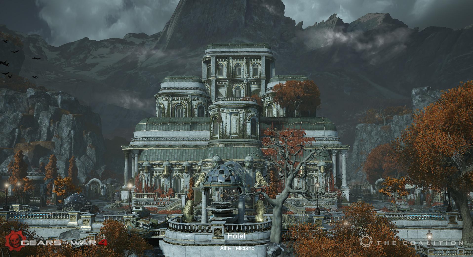 ArtStation - Gears of War 4 DLC (Hotel), Alfie Feliciano