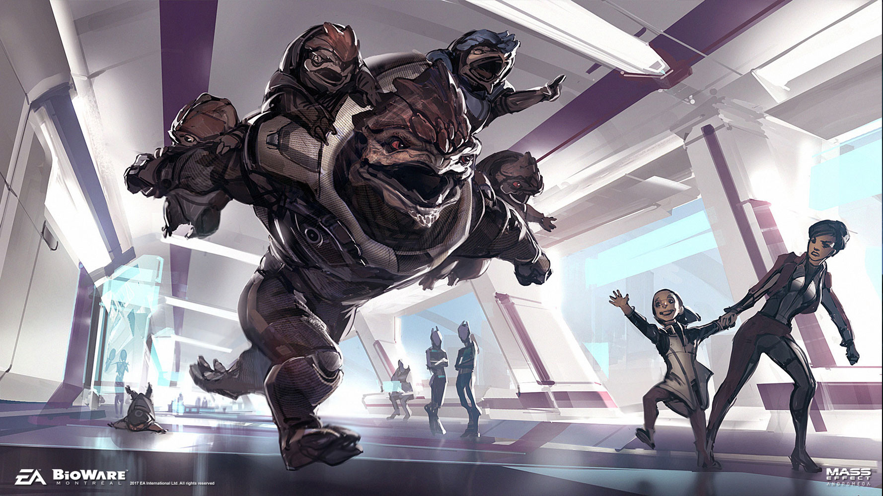 Artstation Mass Effect Andromea Something To Fight For Ben Lo