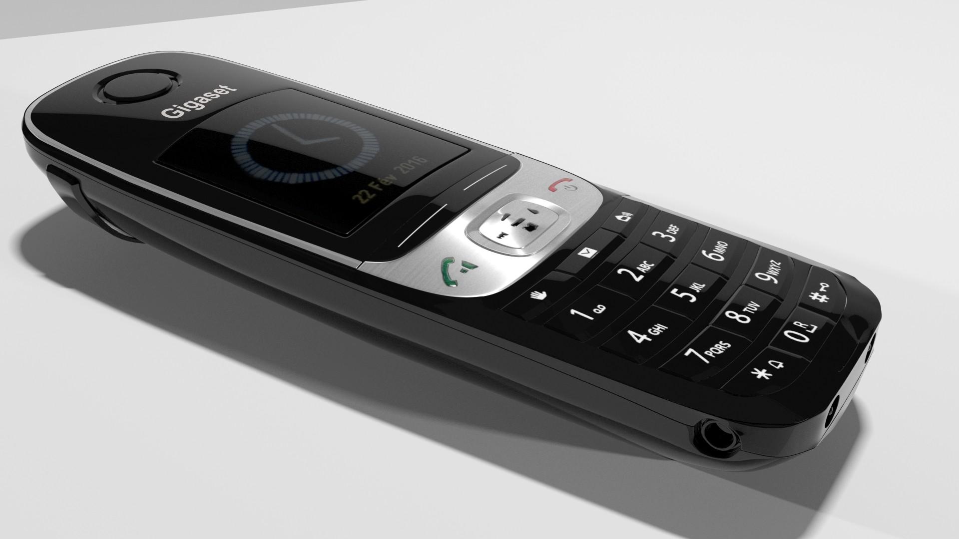 3D GIGASET phone