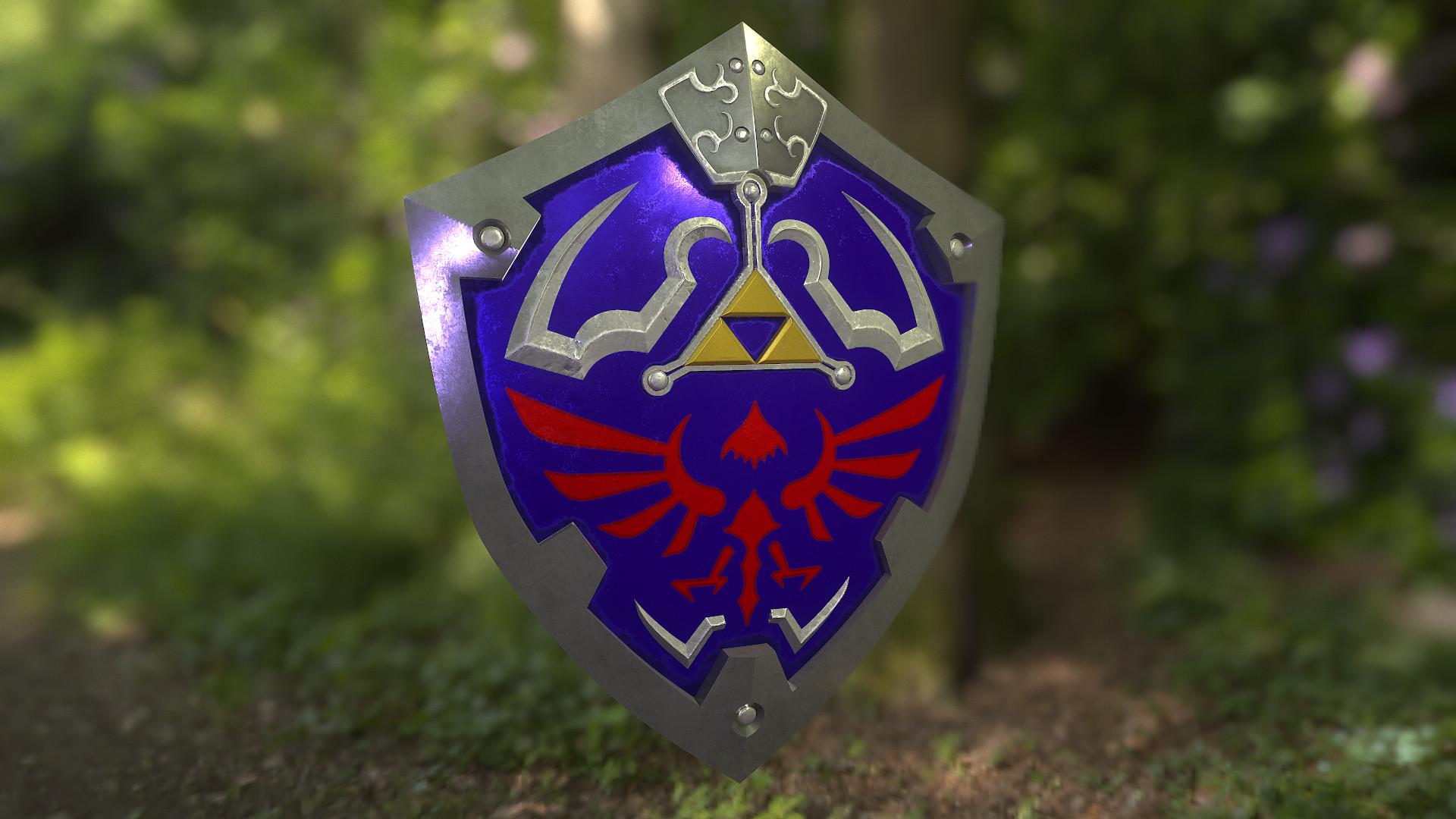hylian shield !!