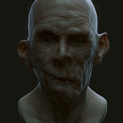 Ste flack zombie study 01