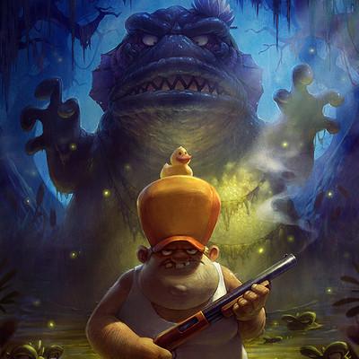Blaz porenta swamp attack 2 poster