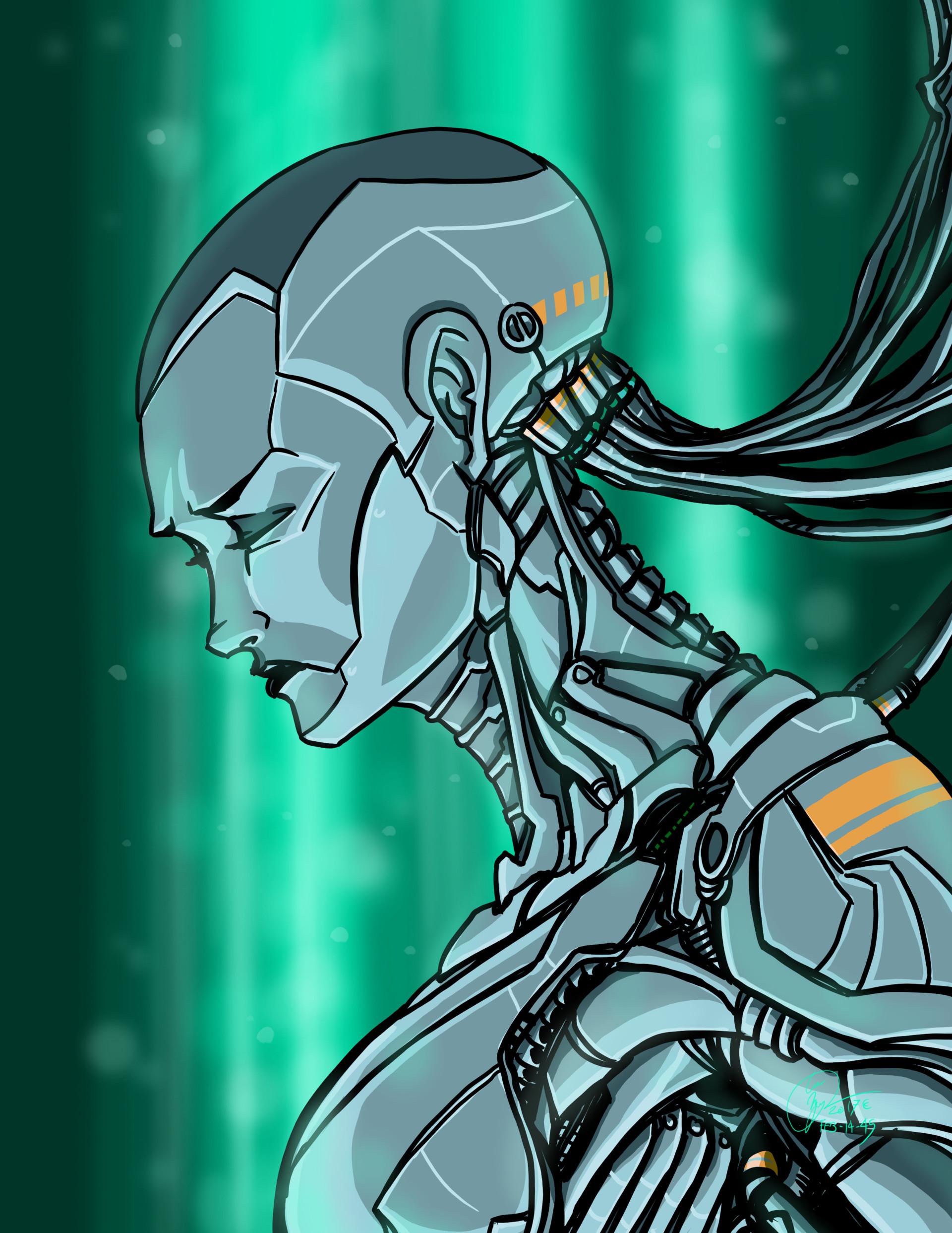 Eve, sci-fi mecha concept