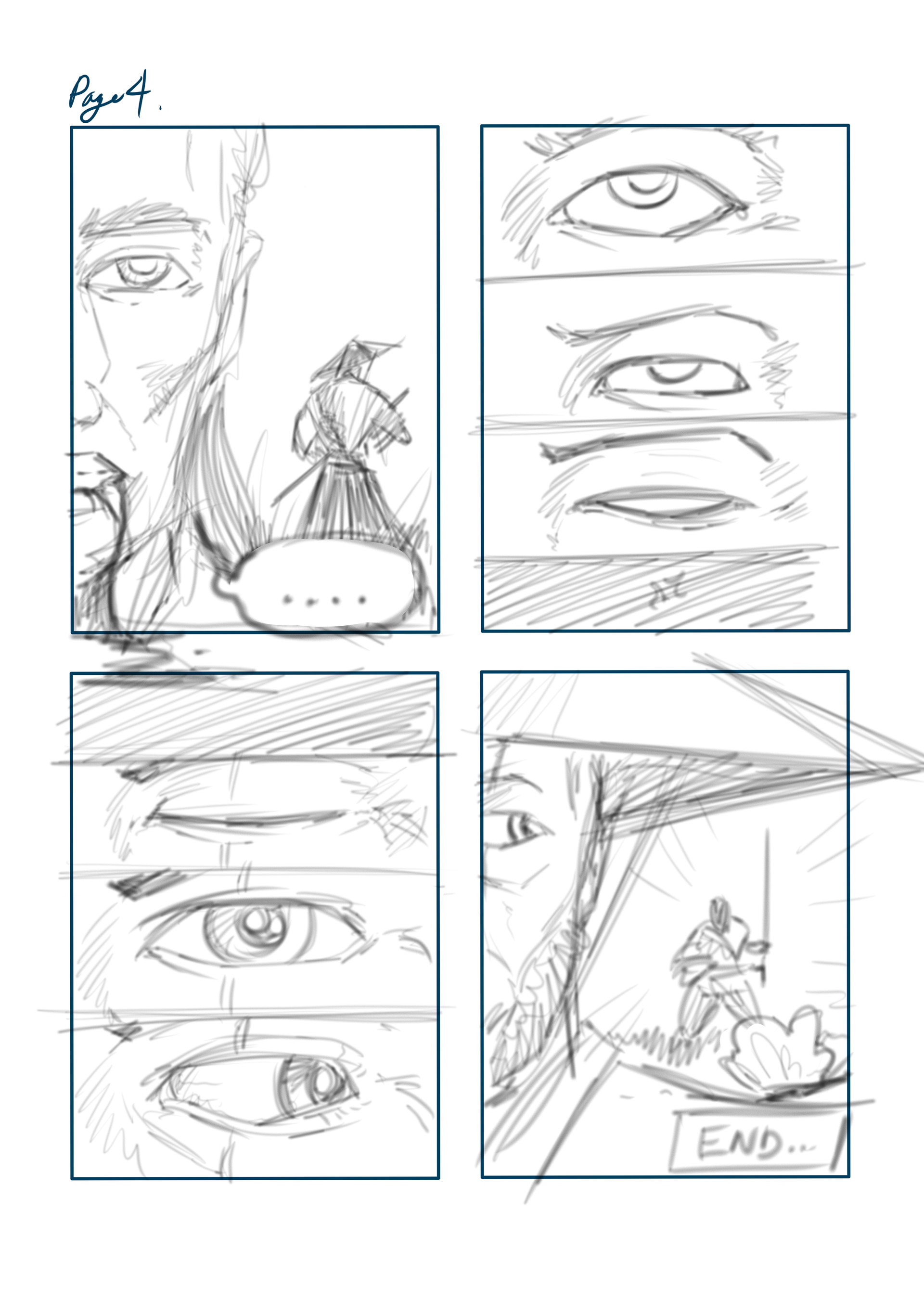 Loc nguyen mini comics page 4pencil