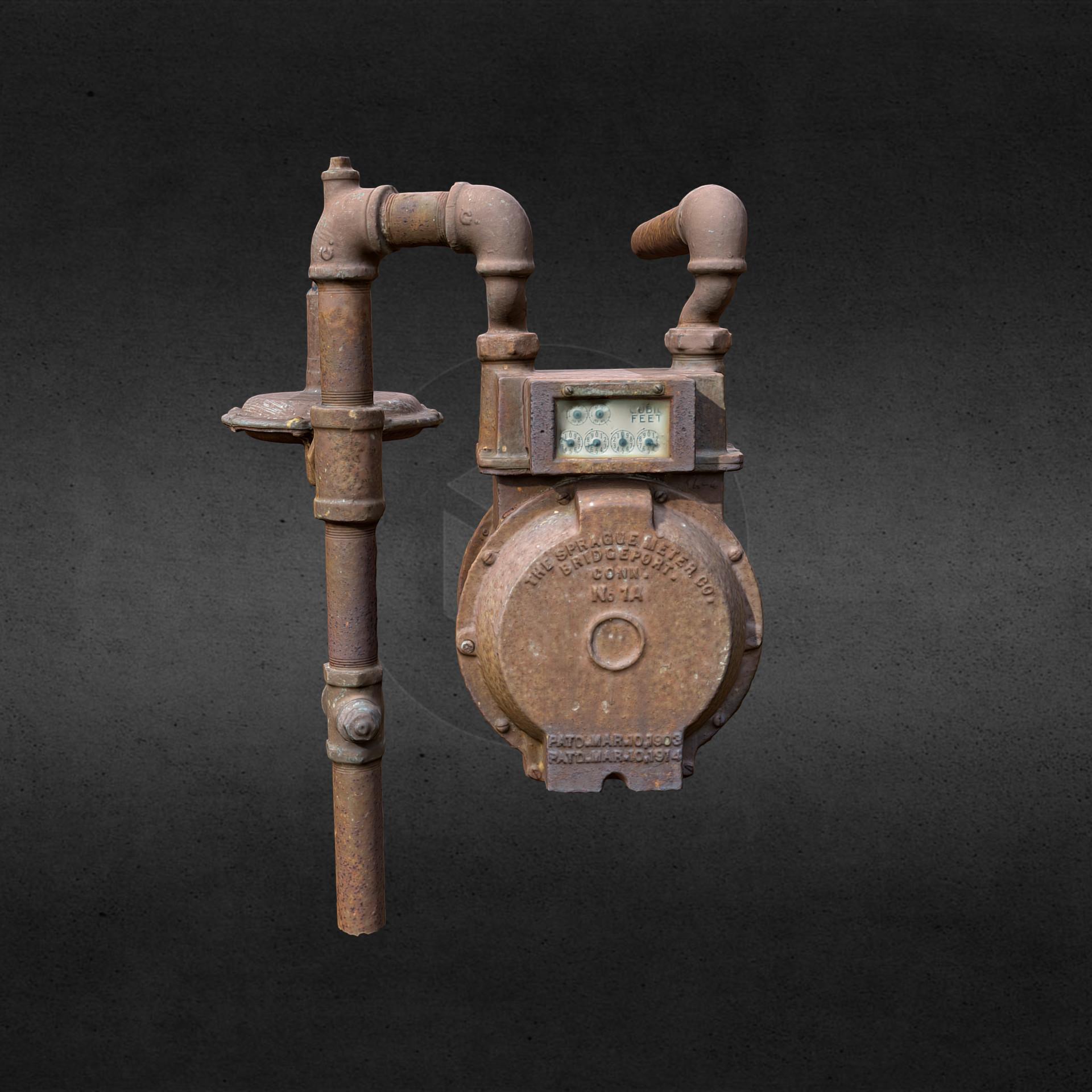 Andre bond gas meter 1