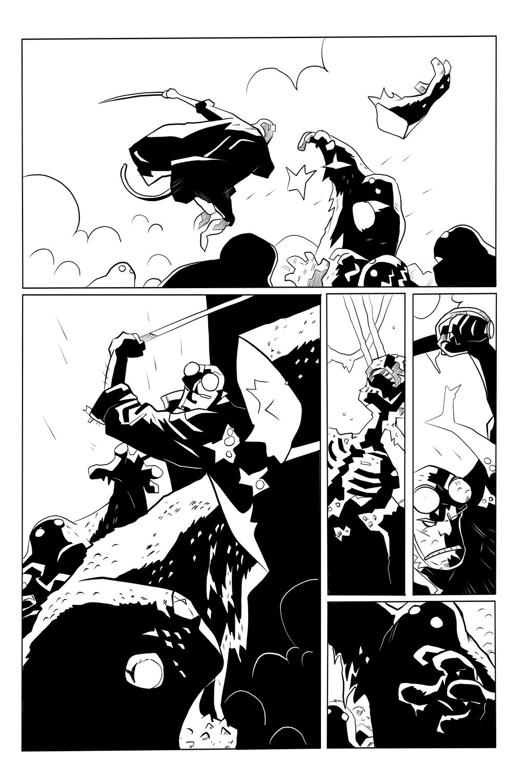 Hellboy - The Island Sample Page 5 of 5