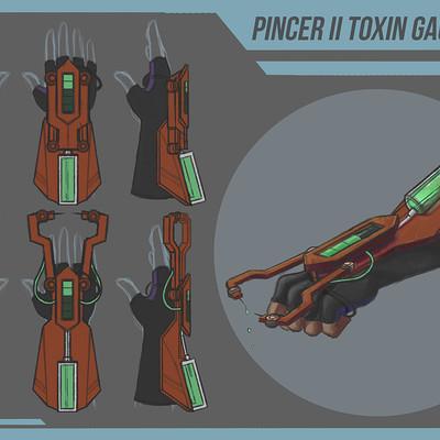 Pincer II Toxin Gauntlet