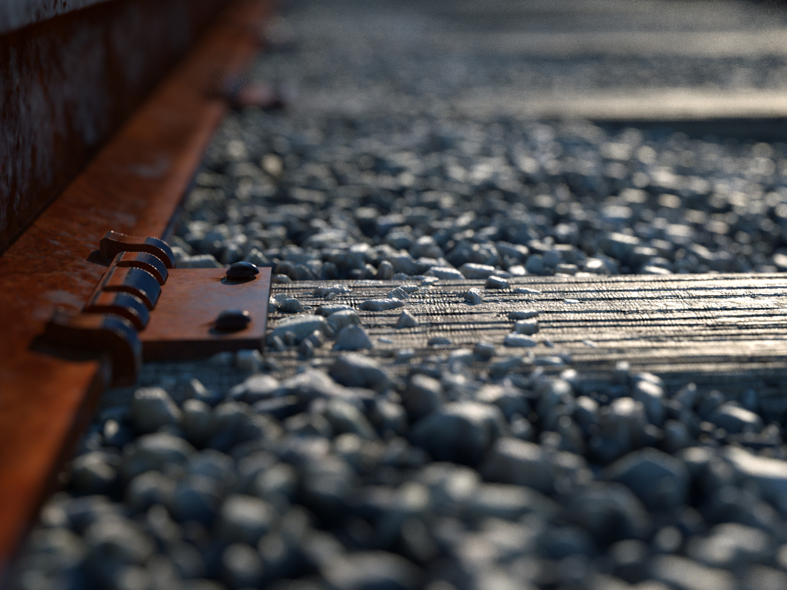 Railroad - Procedural Texturing