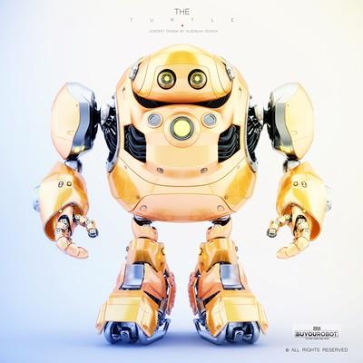 Vladislav ociacia cyber turtle robot 16