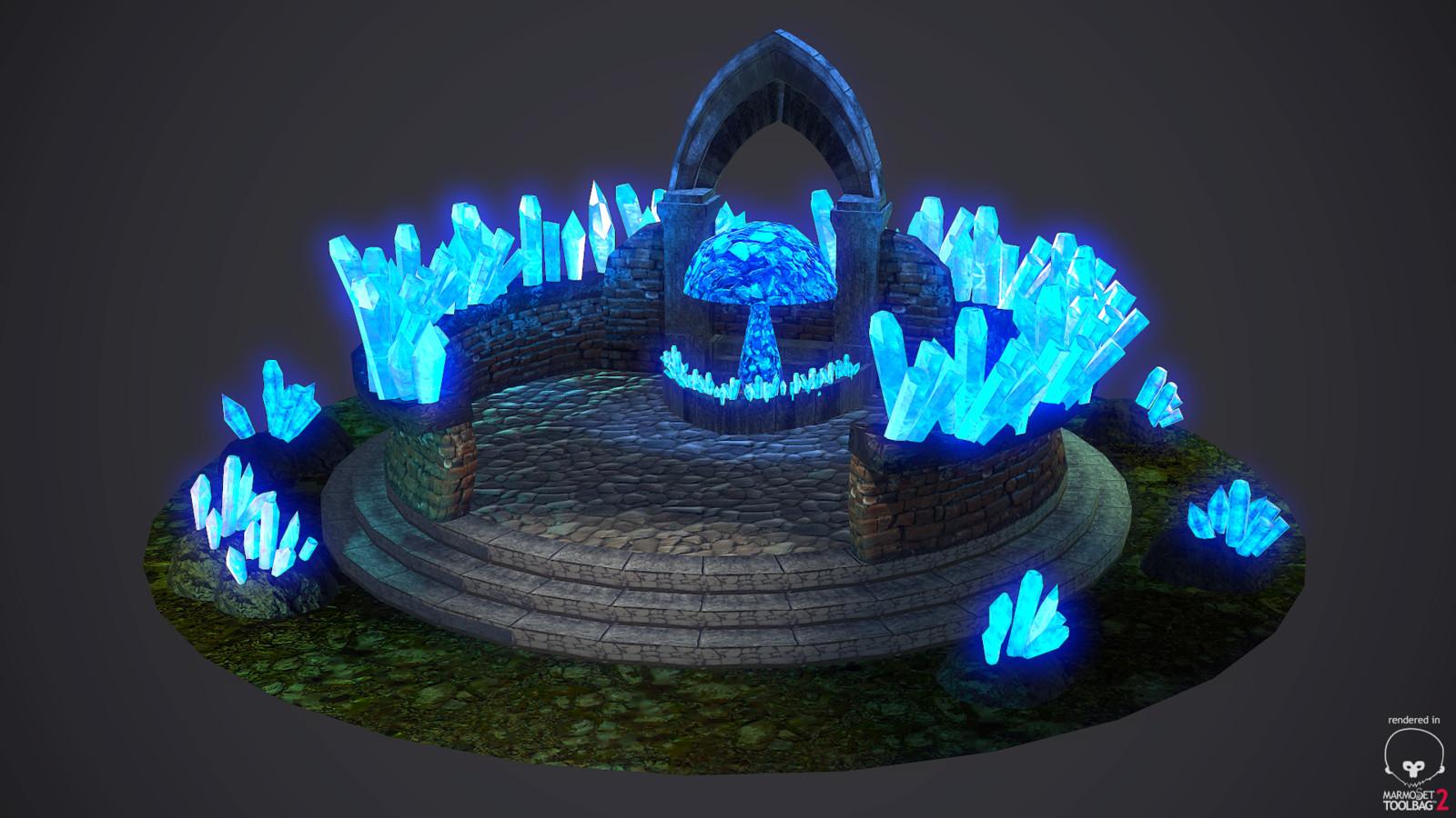 Crystal Mushroom Shrine