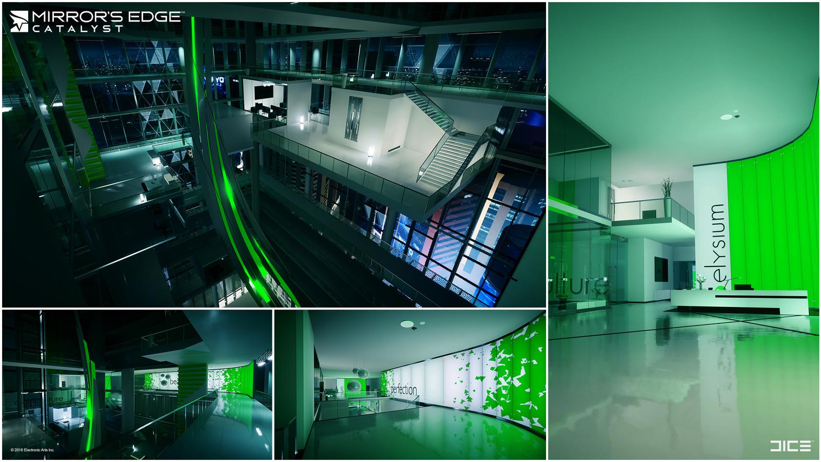 Atrium Top, Elysium Labs  Agriculture lobby