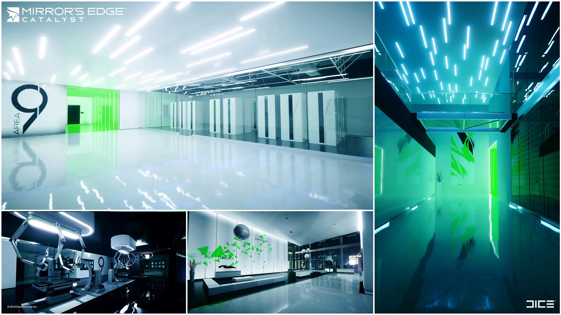 Secret Lab/End Office Area