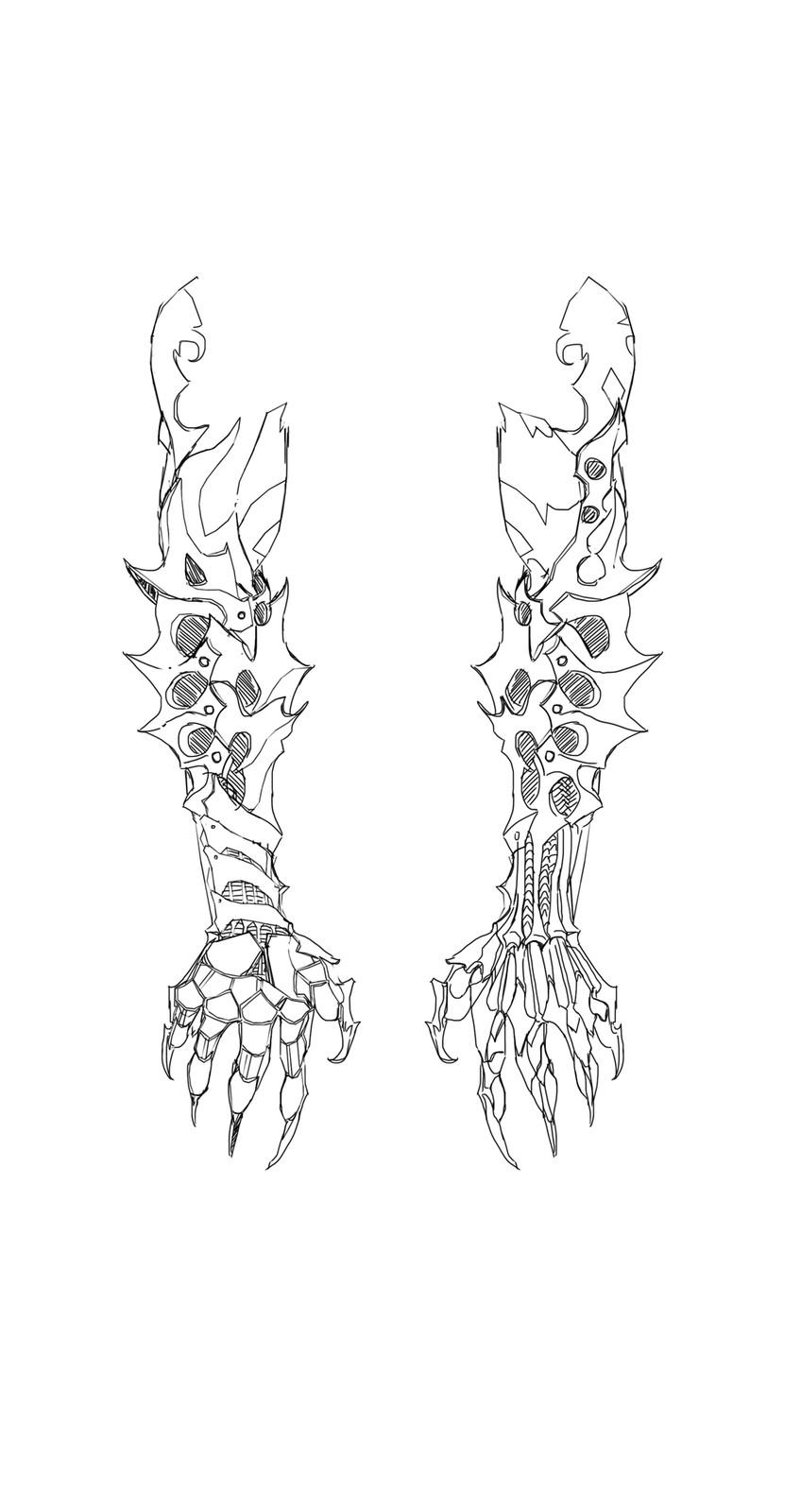 Arm detail 2