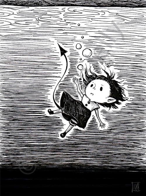 Griotte underwater