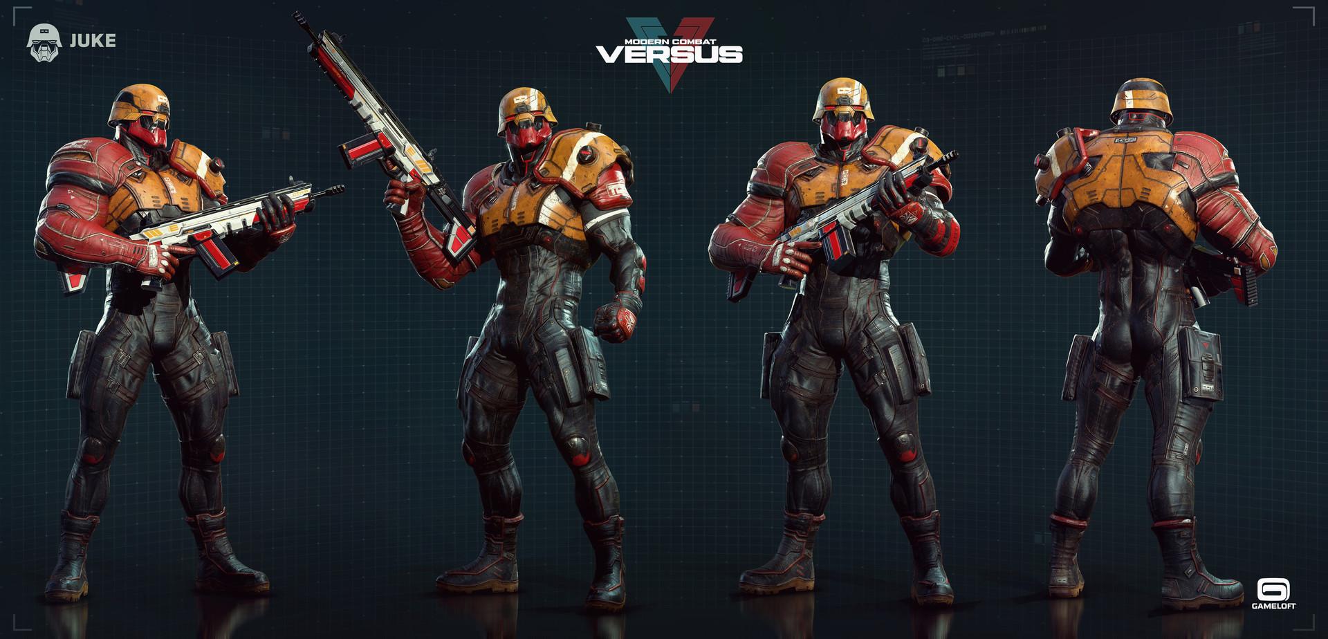 Rodrigue Pralier Juke Modern Combat Versus Gameloft Mtl