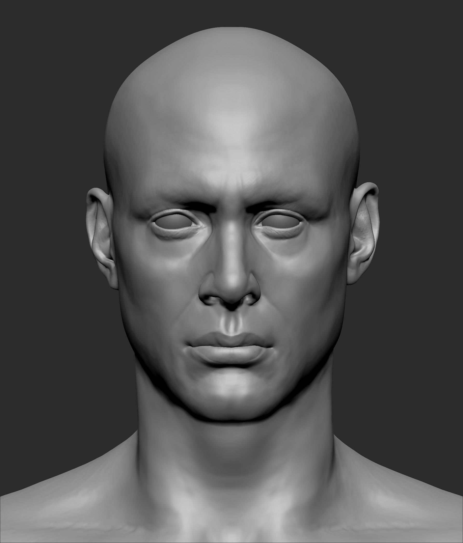Juan Diego Lugo - Anatomy Face Practice