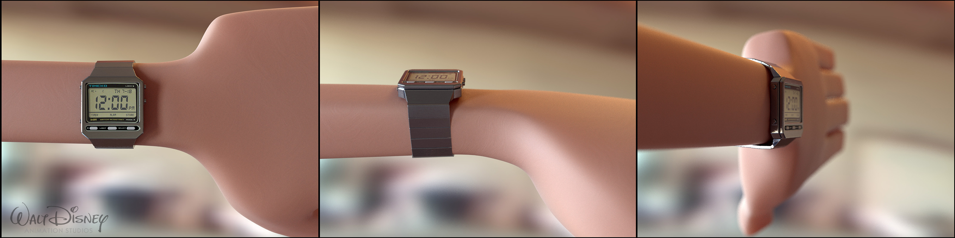 80's Style Watch