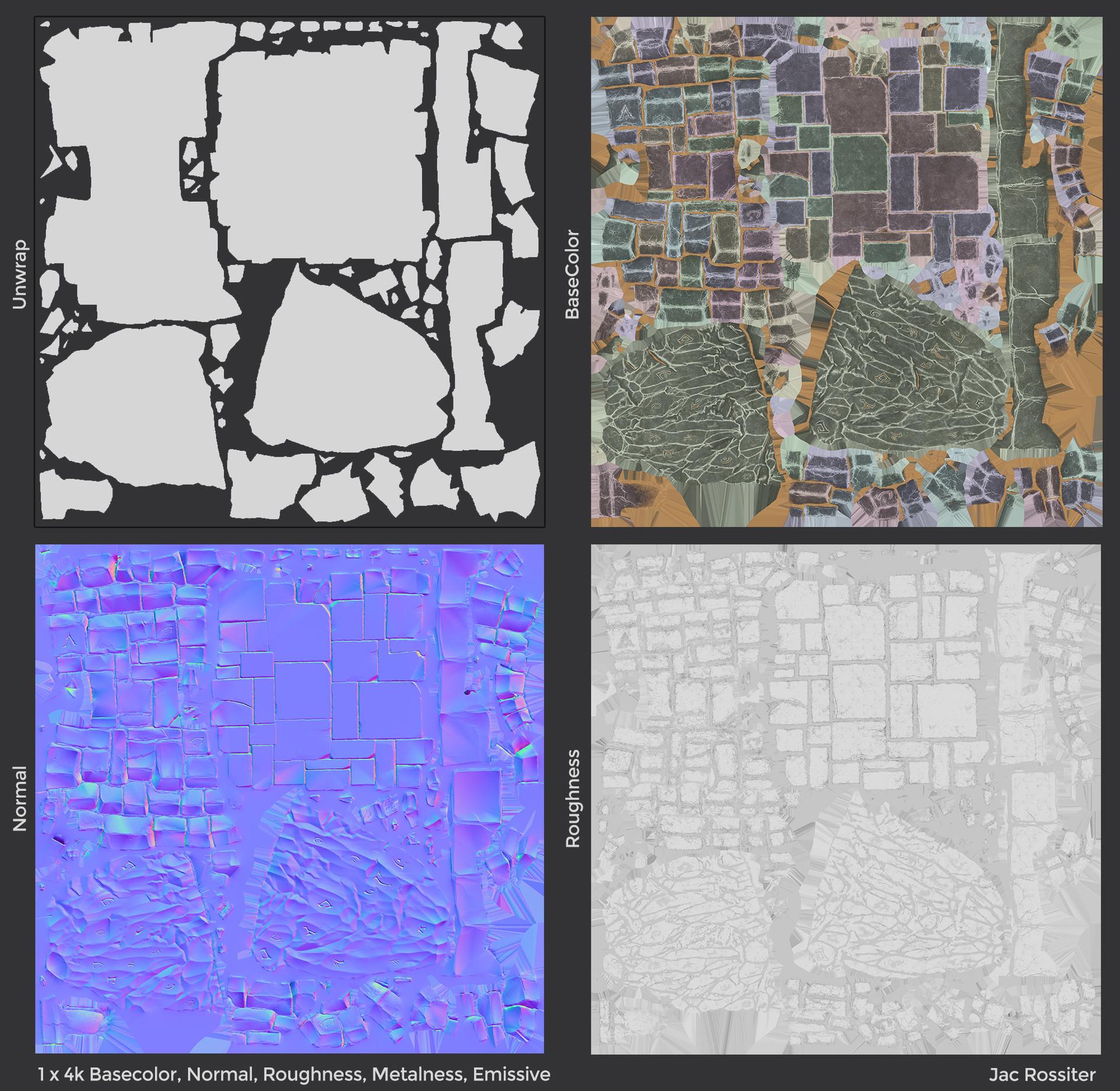 Jac rossiter render bricks textures