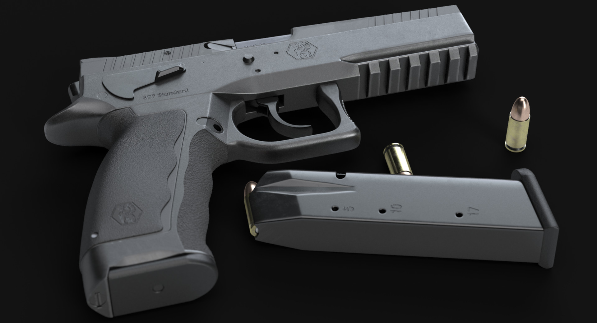 ArtStation - Sphinx SDP Standard (High-poly), FMJ_3d Dr