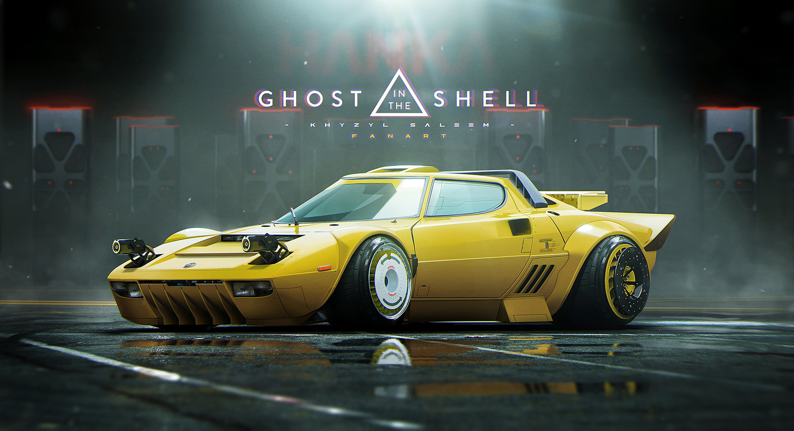 BATOU CAR REMAKE