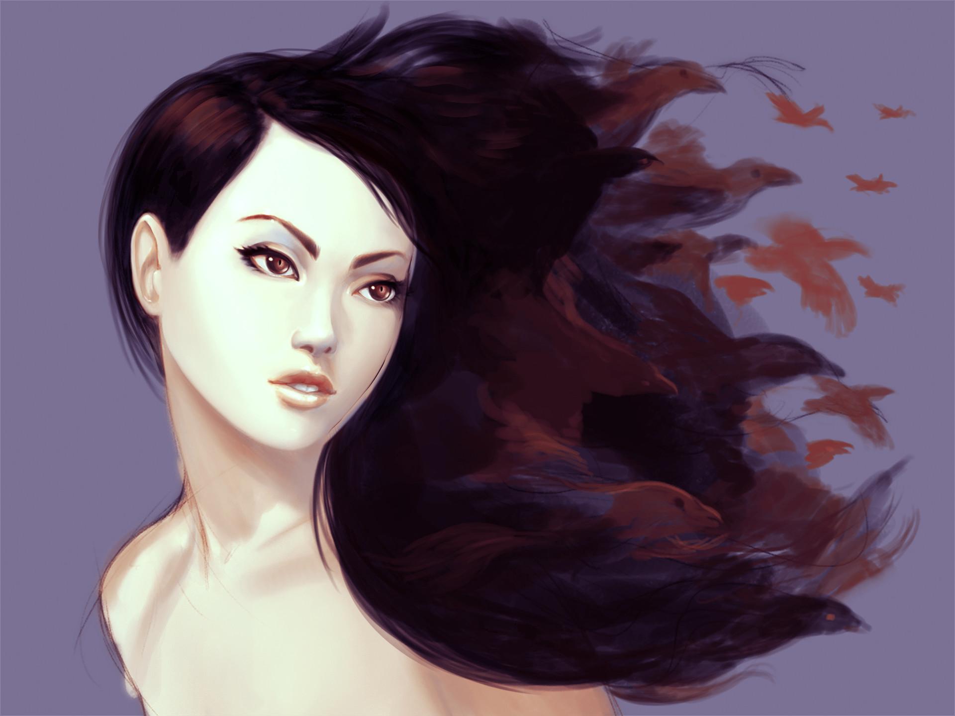 Oliver wetter raven girl 02