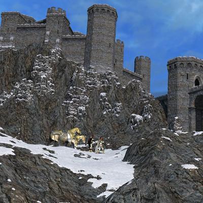 David roberson winter fortress long climb ascent post www