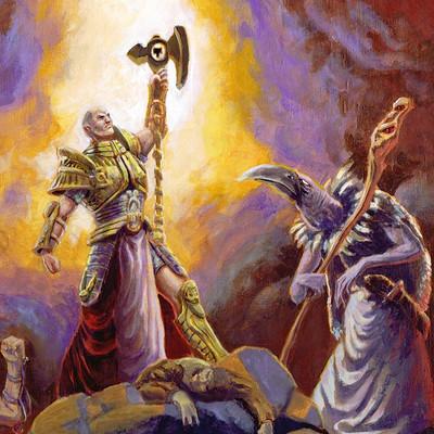 Andrea barolo allegory of faith by epsilorn d32tepy