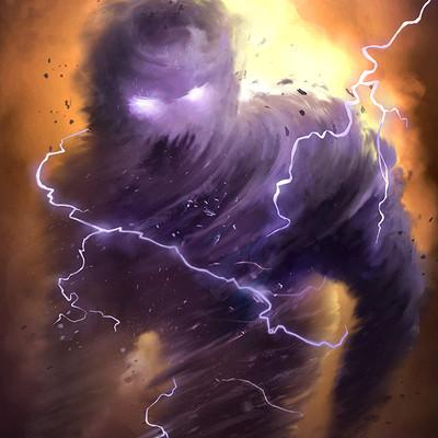 Chapter 50 - The Earth God's Power Gosha-babko-air-elemental-01