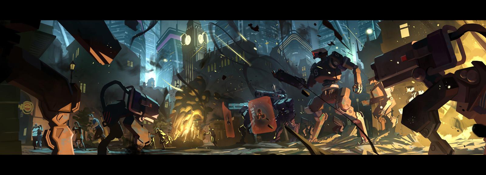 Nesskain Hks Overwatch King S Row Uprising