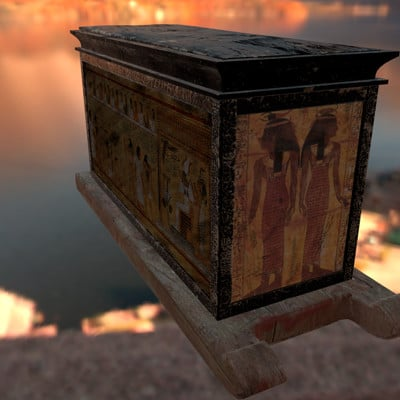 Marcio molezini egypt sarcophagus