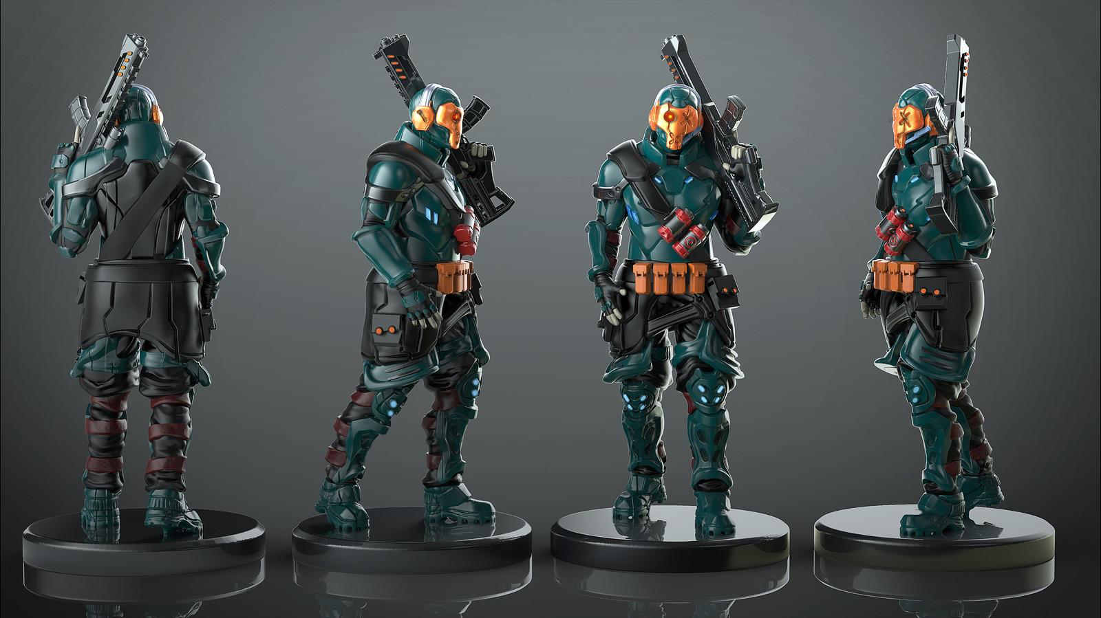 Upcoming wargame miniature
