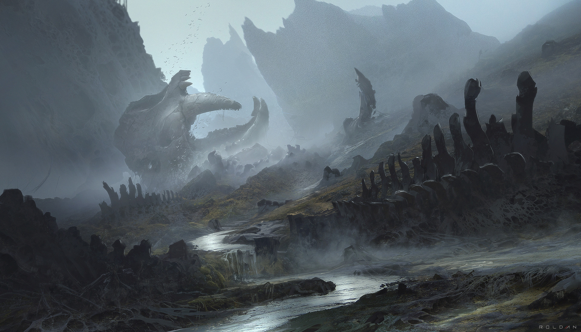 Artstation death valley juan pablo roldan - Fantasy desktop pictures ...
