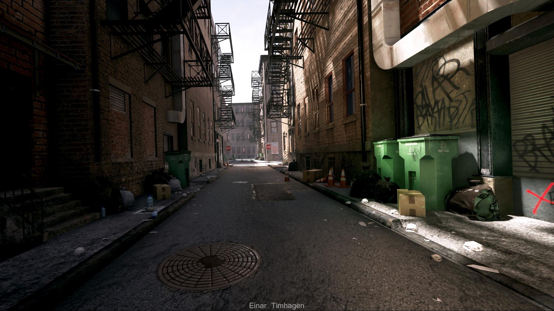 Alley Deutsch
