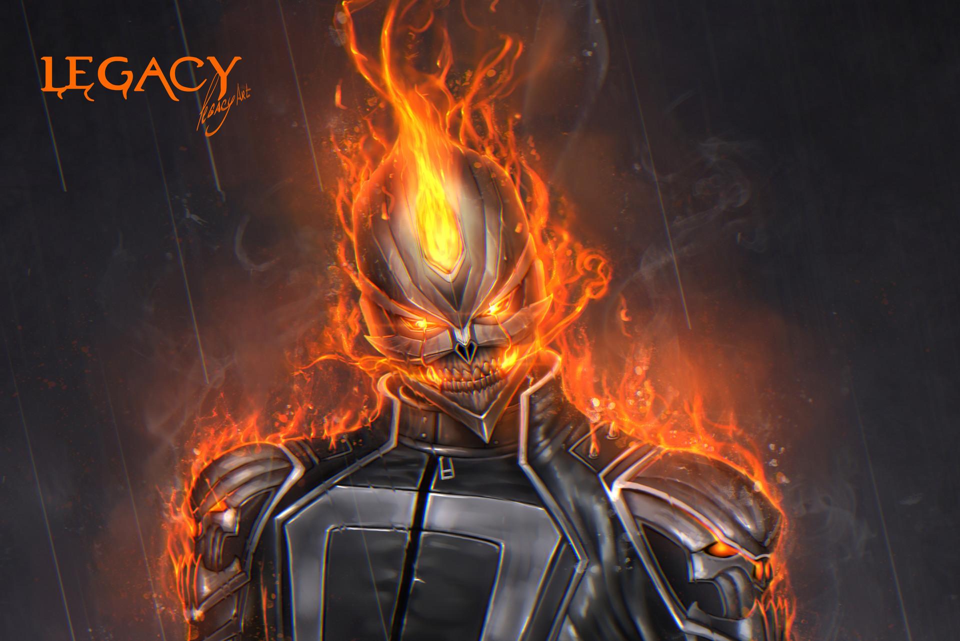 Legacy Artplay Ghost Rider Robbie Reyes