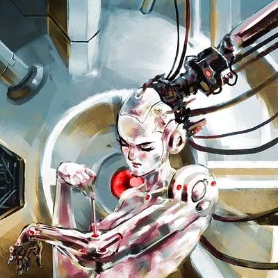 Atom cyber self repair