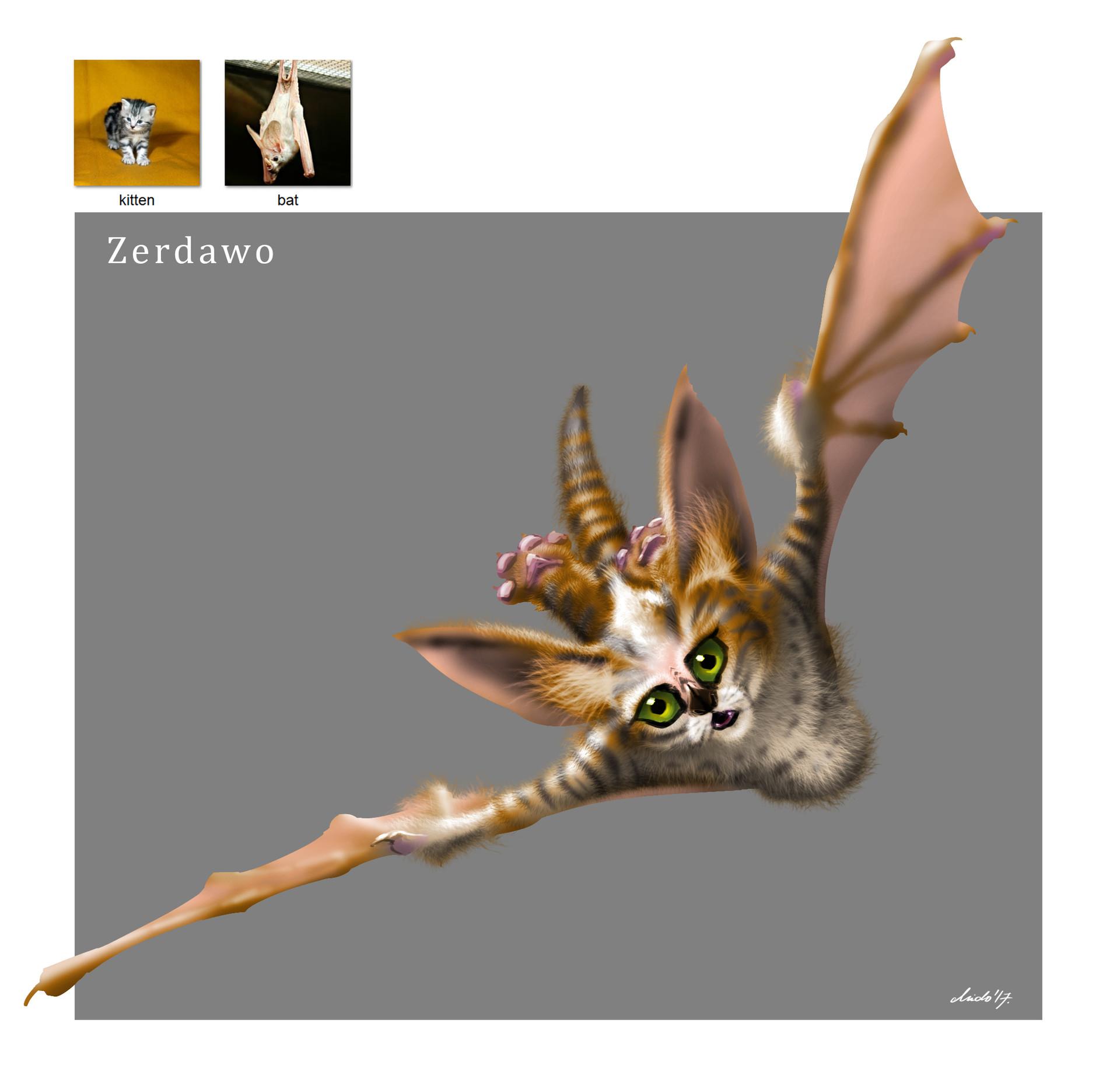 Midhat kapetanovic random creature mashup 035 zerdawo