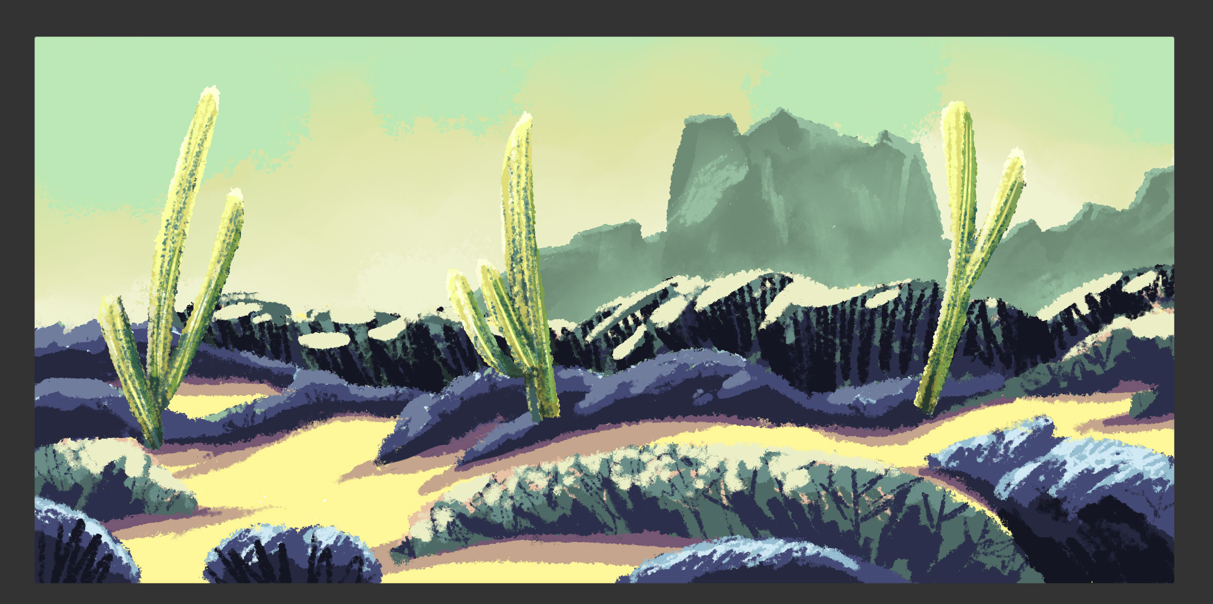 Desert - Afternoon