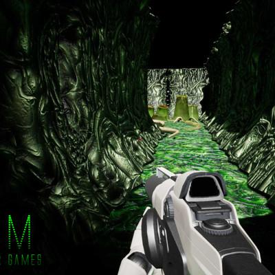 Marcio molezini alien corridor