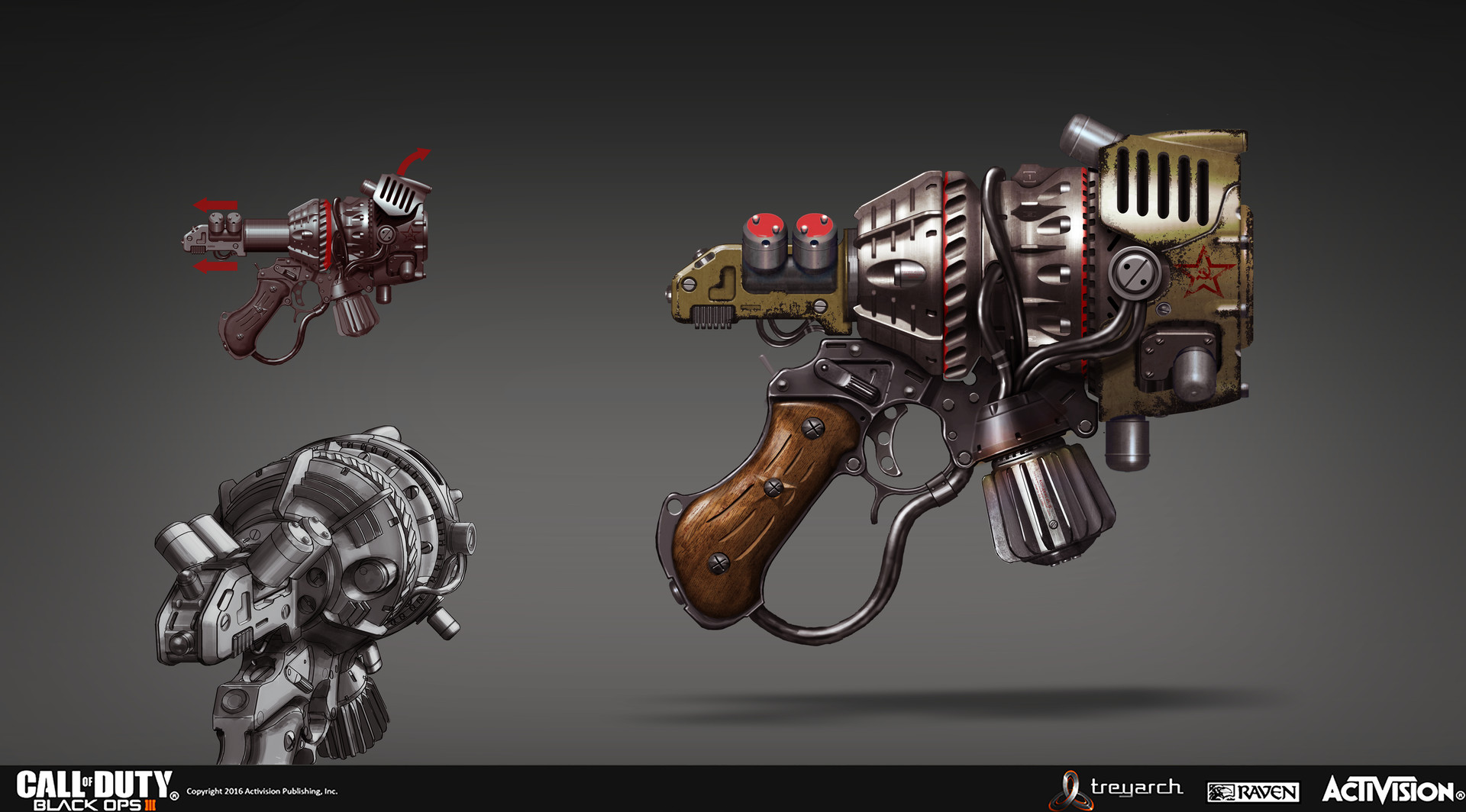 ArtStation - Call Of Duty Black Ops 3 zombie mode Raygun