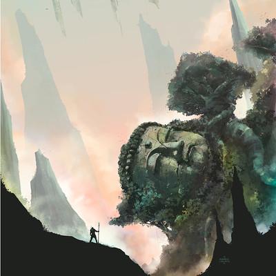 Xavier cuenca bg illustration out