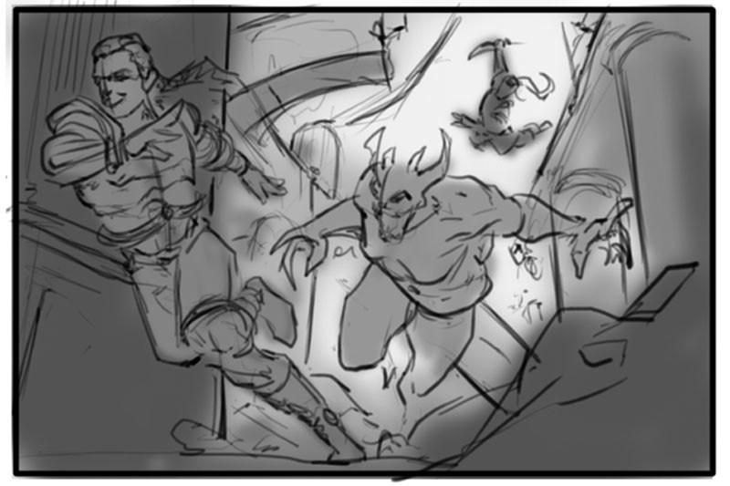 Revels in Trickery - Sketch03
