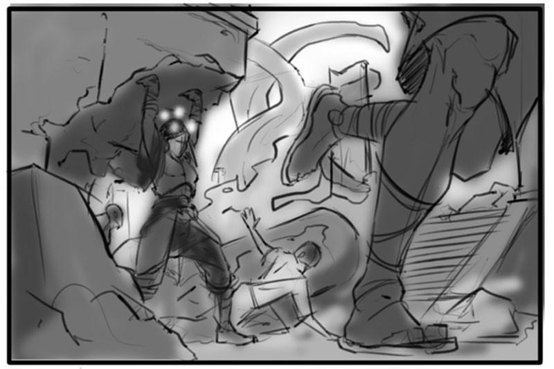 Divine Labor - Sketch03
