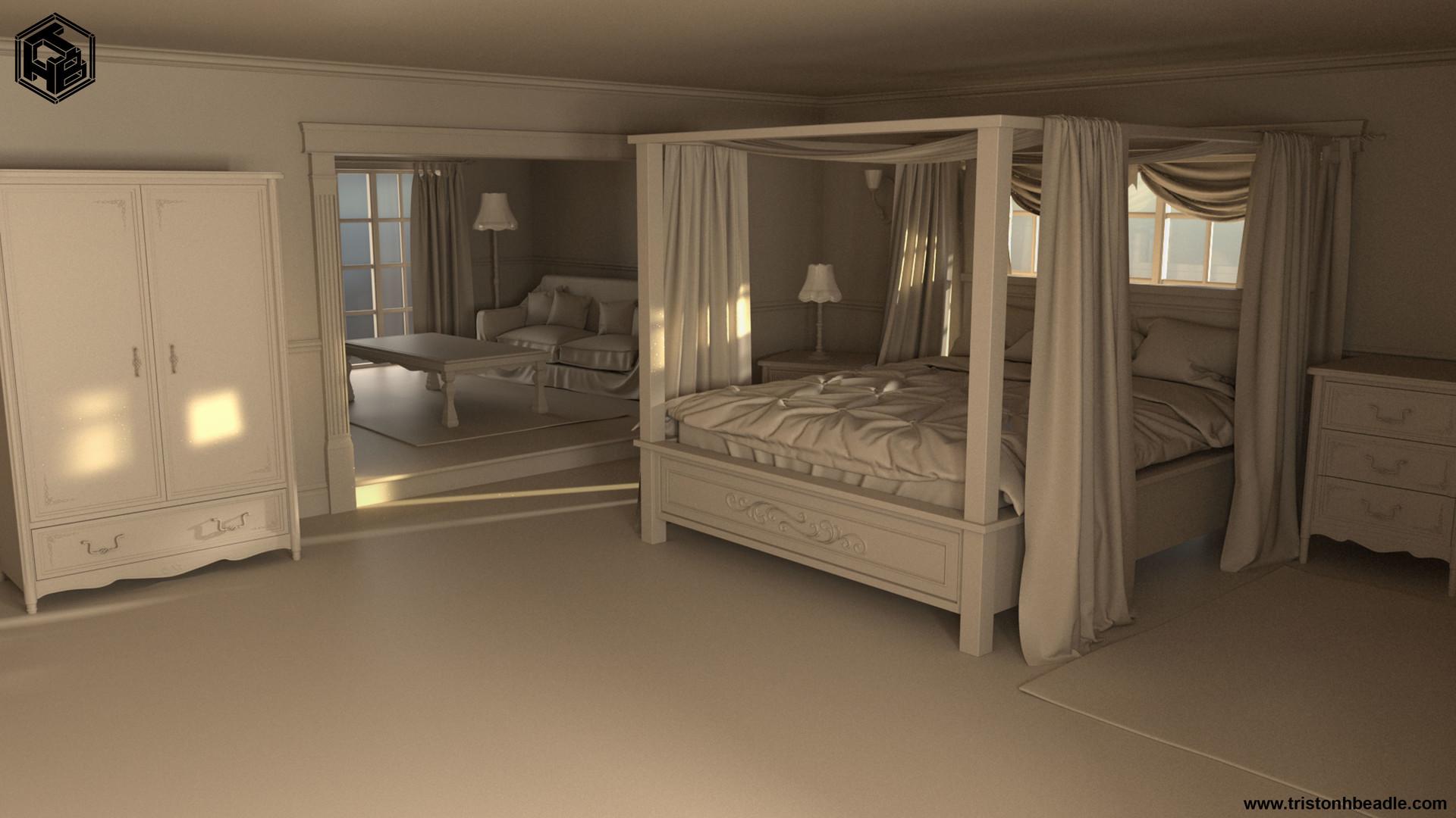 Triston beadle interior bedroom