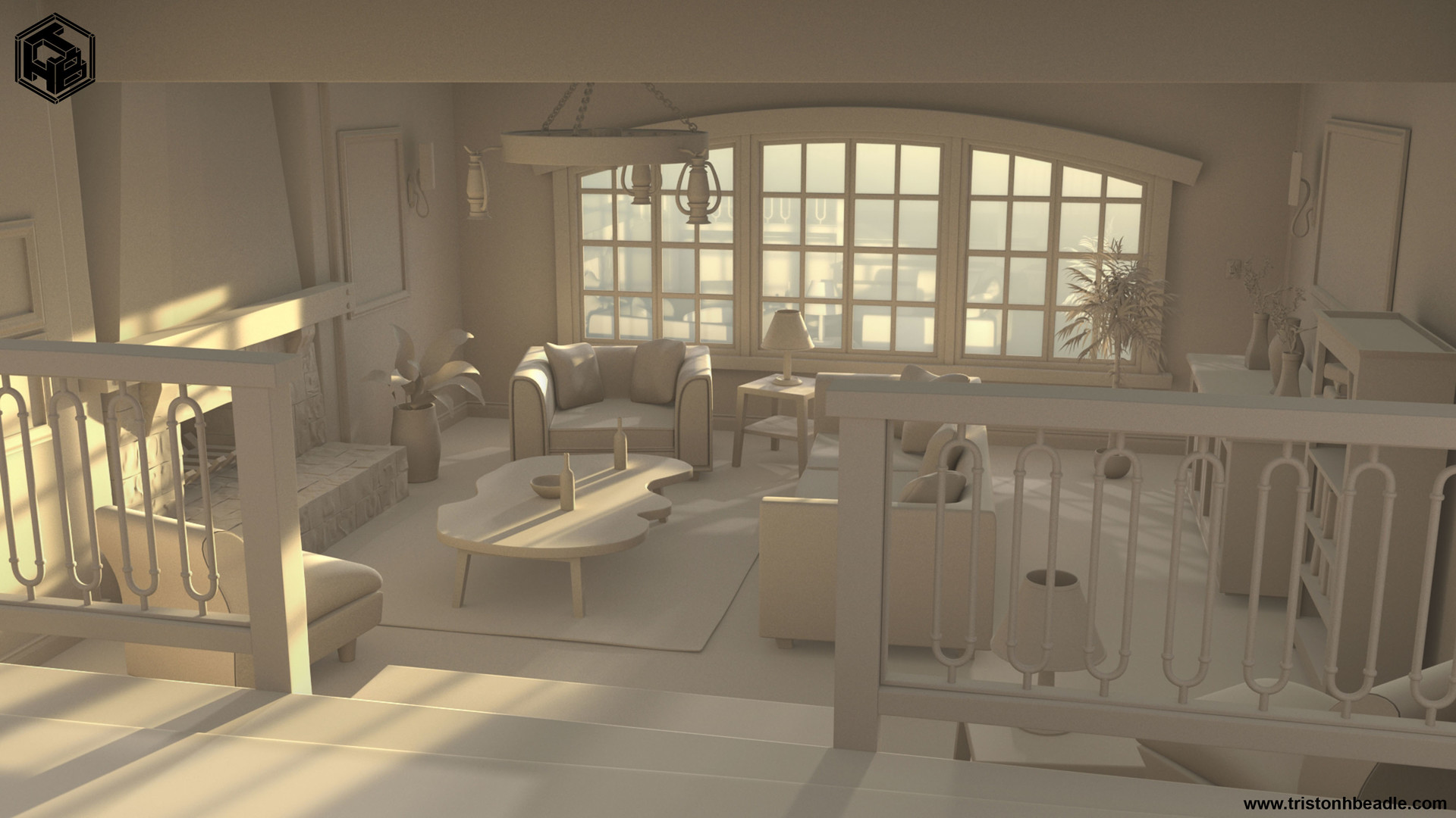 Triston beadle interior sitting room