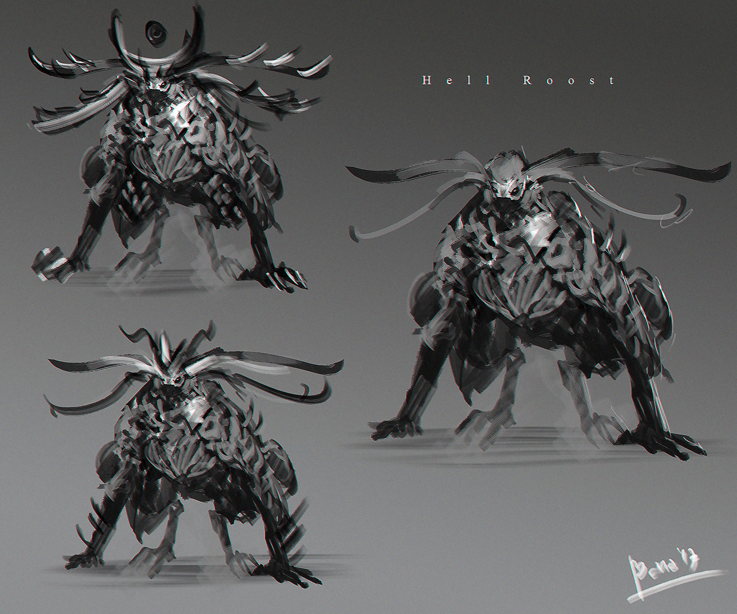 Benedick bana hell roost lores