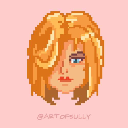 'Postmodern Girls' - Pixel Animation (Commission)