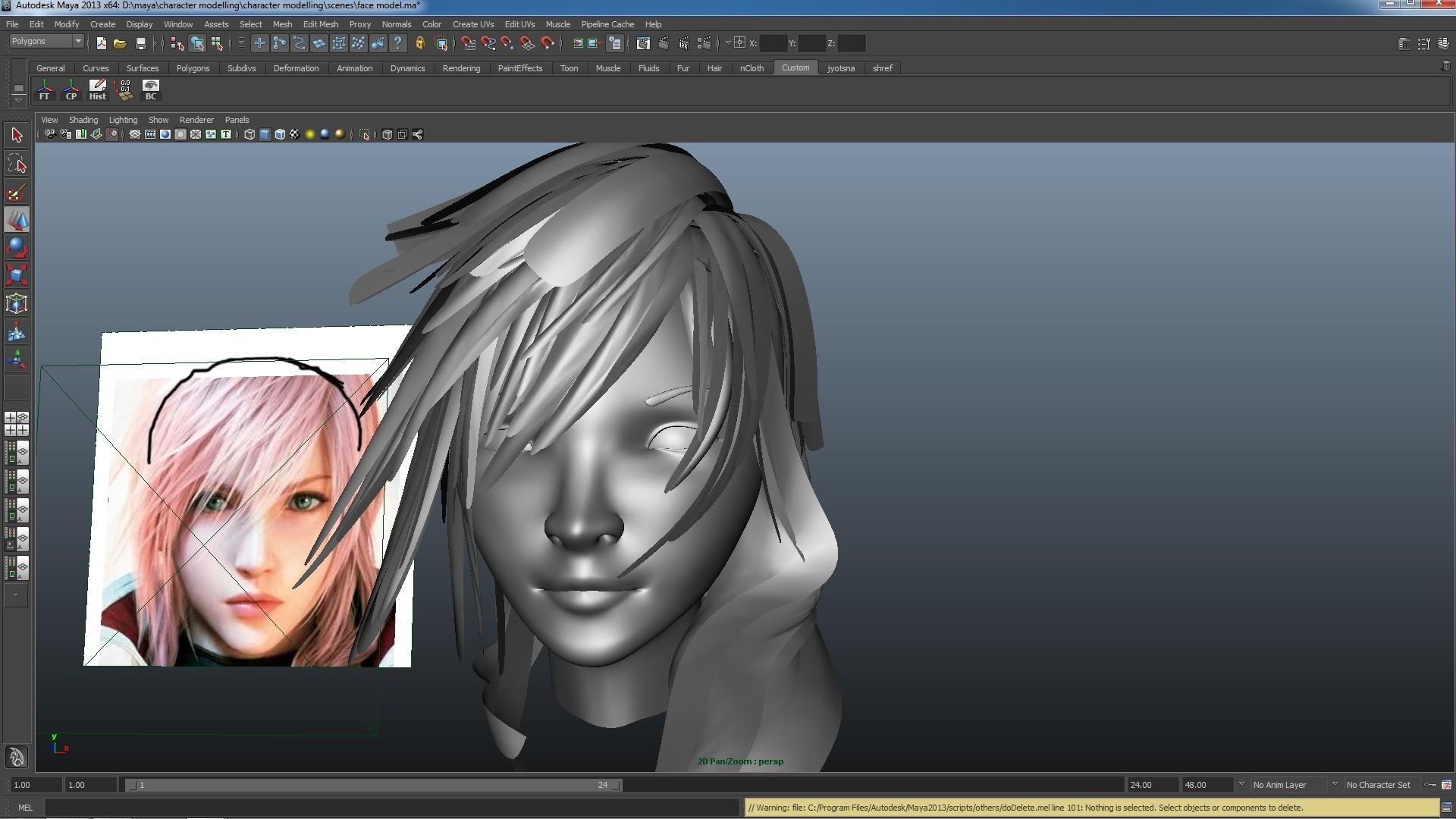 Artstation Lightning Final Fantasy Jyotsna Singla