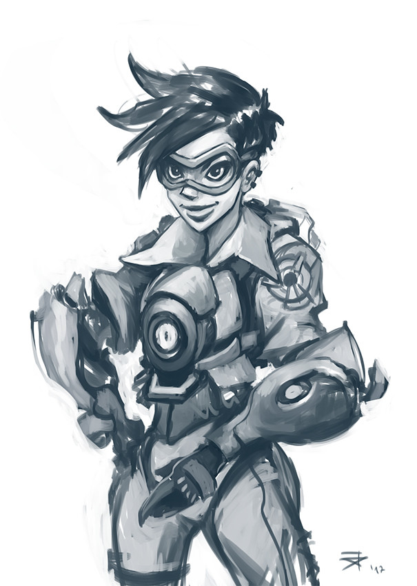 Day Three: 5 drawings in 5 days
