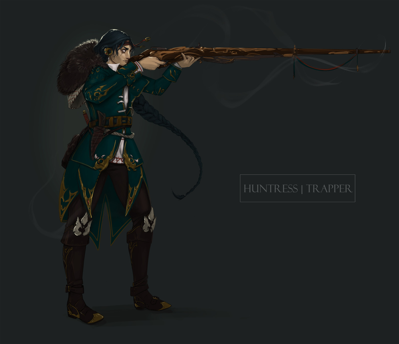 Huntress -- concept